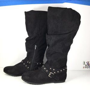 SO Rebeca Riding Boots Black Size 8.5